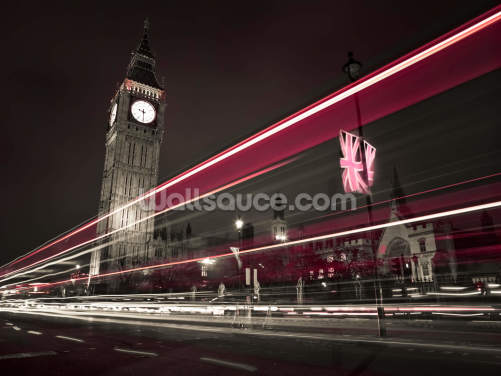 Big Ben at Night Wallpaper Wall Murals