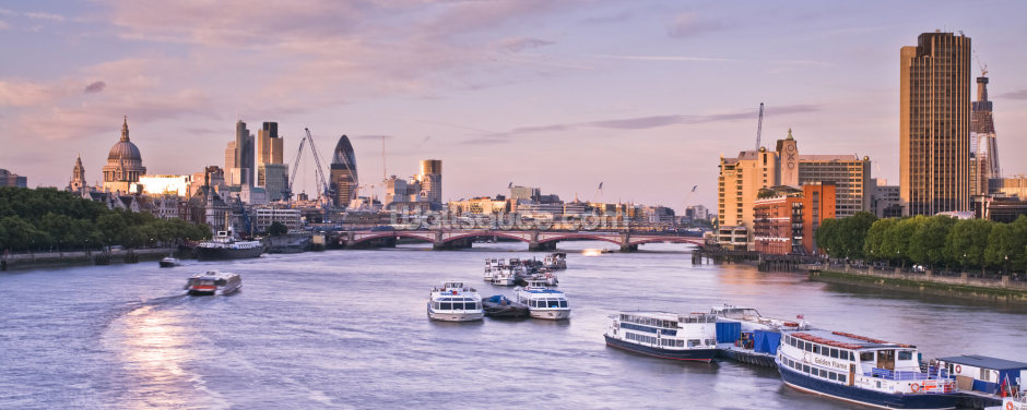 London Skyline Wallpaper Wall Murals