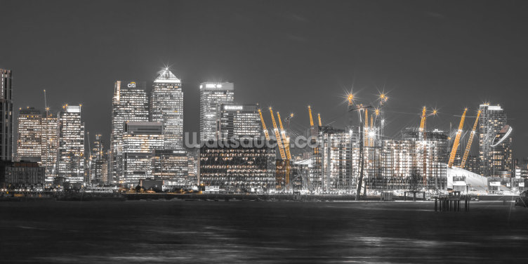 London Cityscape across the Thames Wallpaper Wall Murals