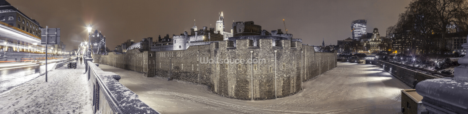 Tower of London Panorama Wallpaper Wall Murals