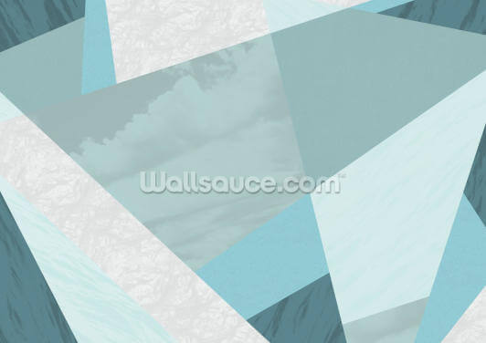 Aqua Blue Wallpaper Wall Murals