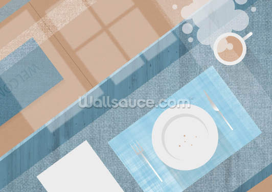 Breakfast Wallpaper Wall Murals