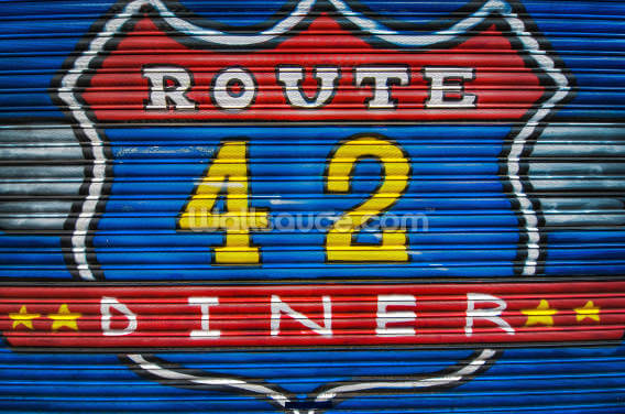 Route 42 Wallpaper Wall Murals