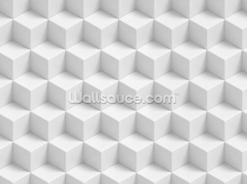 3D Geometric Cubes Wallpaper Wall Murals