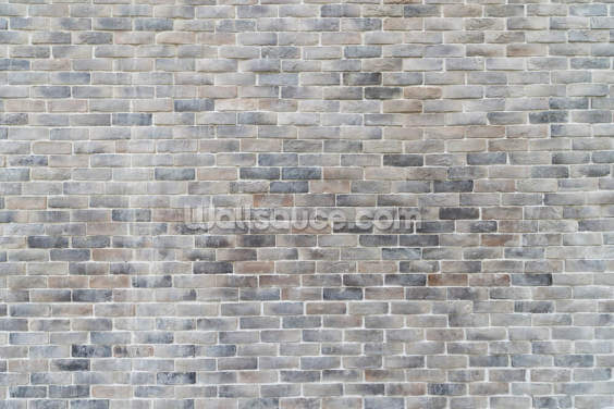 Pastel Tones Brick Wallpaper Wall Murals