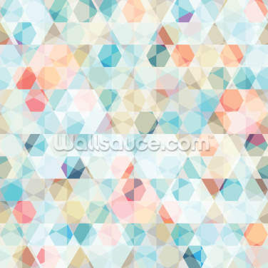 Kaleidoscope Geometric Wallpaper Wall Murals