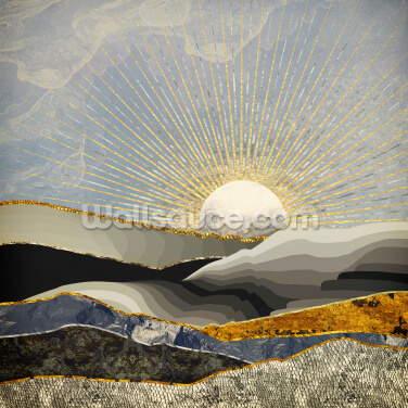 Morning Sun Wall Mural Wallpaper Wall Murals