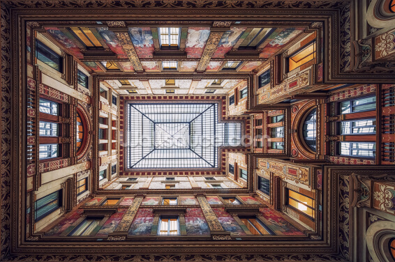 Galleria Sciarra, Rome Wallpaper Wall Murals