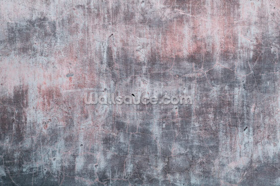 Grey and Pink Concrete Effect Wallpaper Wall Murals