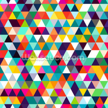 Mosaic Triangles Wallpaper Wall Murals