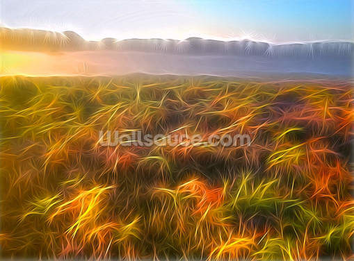 Light Misty Heath Wallpaper Wall Murals