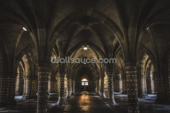 Undercroft Glasgow University Wallpaper Wall Murals