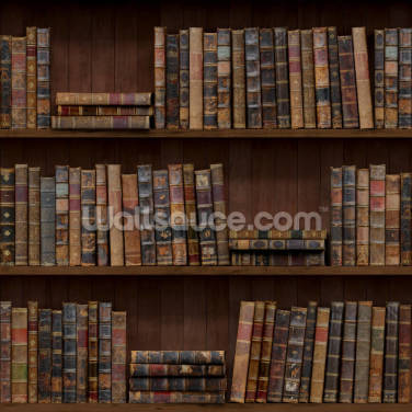 Old Books Wallpaper Wall Murals