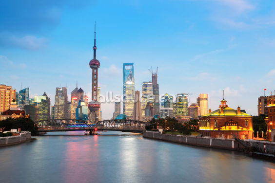 Shanghai Evening Wallpaper Wall Murals