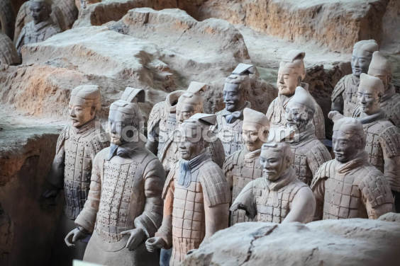 Terracotta Warriors, Xian Wallpaper Wall Murals