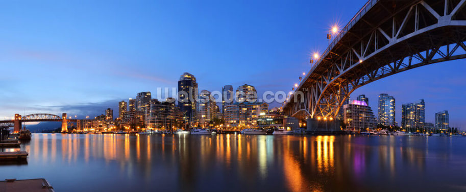 Granville Bridge, Vancouver Wallpaper Wall Murals