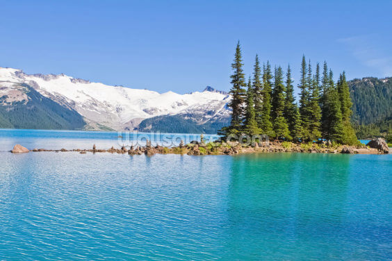 Garibaldi Lake, BC Wallpaper Wall Murals