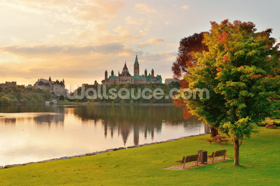 Ottawa Morning Wallpaper Wall Murals