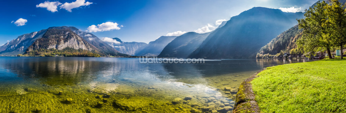 Austrian Alps Panorama Wallpaper Wall Murals
