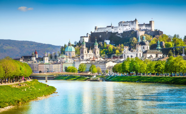 Salzburg Skyline Wallpaper Wall Murals