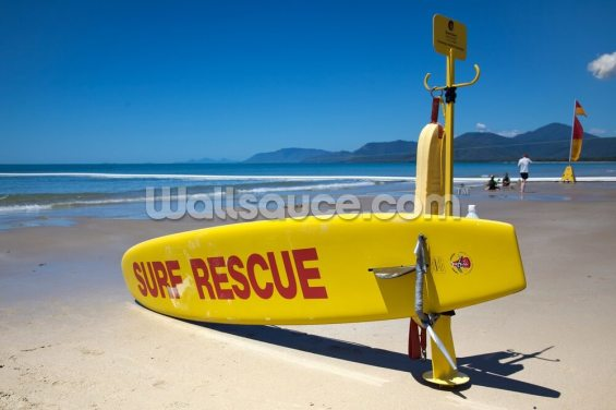 Surf Rescue Wallpaper Wall Murals