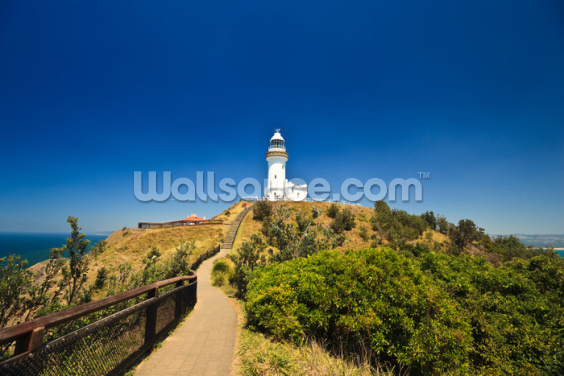 Byron Bay Lighthouse Wallpaper Wall Murals