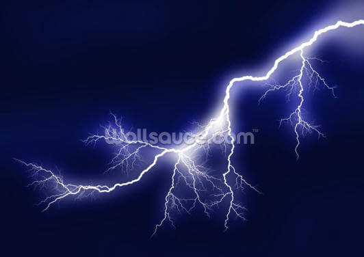 Lightning Wallpaper Wall Murals