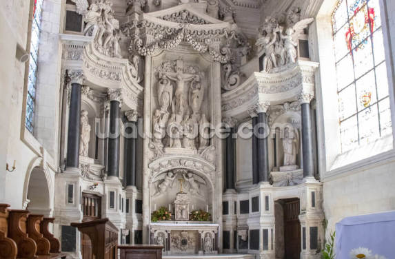 Saumur Chapel Wallpaper Wall Murals