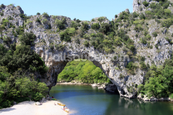 Ardeche River Arch Wallpaper Wall Murals