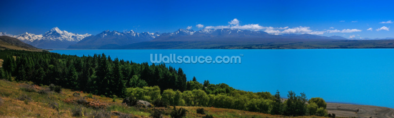 Mt. Cook from Lake Pukaki Wallpaper Wall Murals