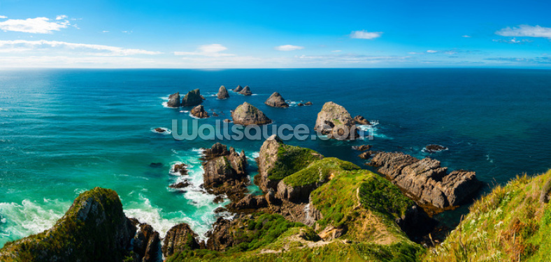 Nugget Point View Wallpaper Wall Murals