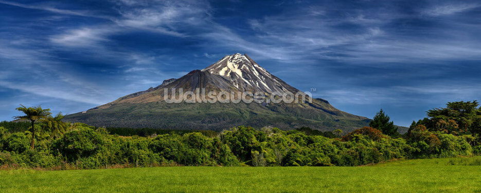 Taranaki Volcano Wallpaper Wall Murals