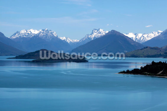 Queenstown - Lake Wakatipu Wallpaper Wall Murals