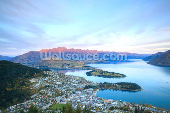 Queenstown Sceney Wallpaper Wall Murals