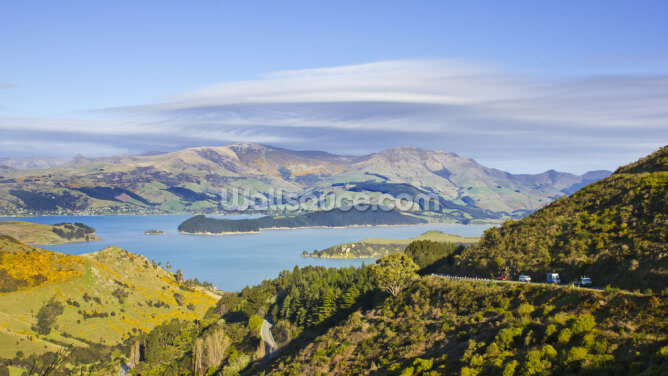 Banks Peninsula Wallpaper Wall Murals