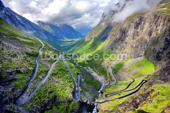 Trollstigen Wallpaper Wall Murals