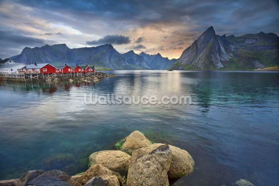 Lofoten Islands Scenery Wallpaper Wall Murals