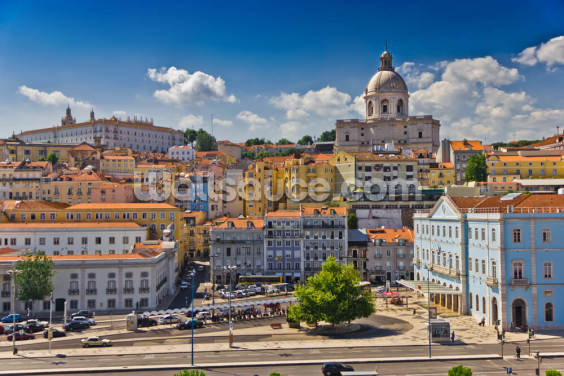 Beautiful Lisbon Wallpaper Wall Murals