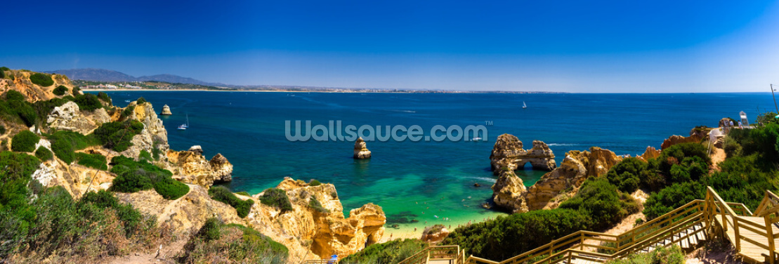 Algarve View Wallpaper Wall Murals