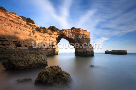 Algarve Beach - Praia turística no Algarve Wallpaper Wall Murals