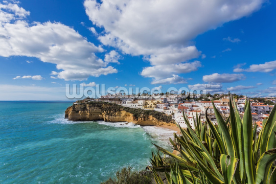 Algarve - Carvoeiro Wallpaper Wall Murals