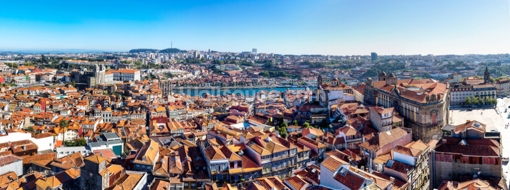 Historic Porto Skyline Wallpaper Wall Murals