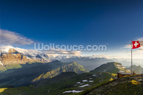 Swiss Alps Wallpaper Wall Murals