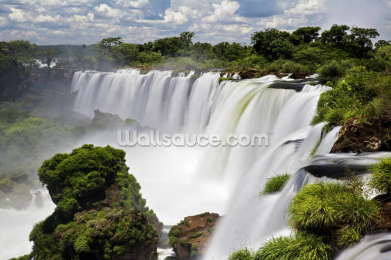 Iguassu Waterfalls Wallpaper Wall Murals
