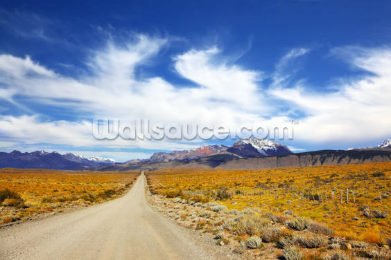 Pampas, Patagonia Wallpaper Wall Murals