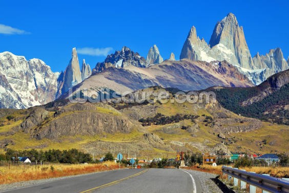 Patagonia Highway Wallpaper Wall Murals