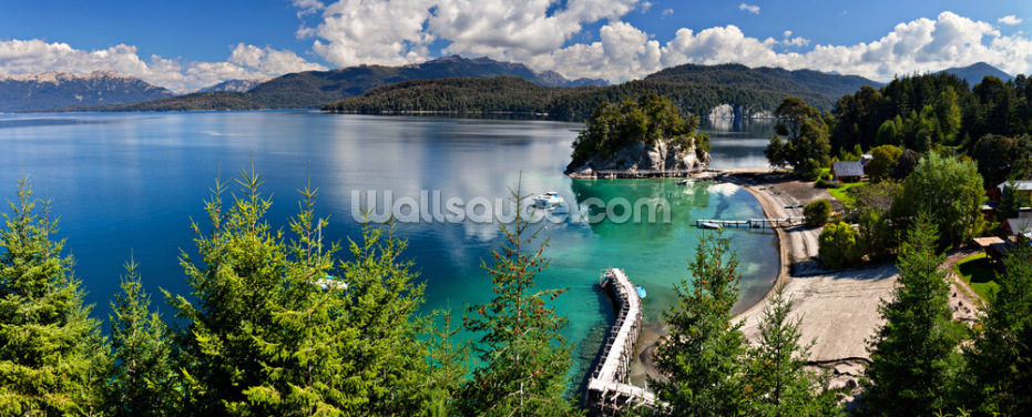 Lake Nahuel Huapi Wallpaper Wall Murals