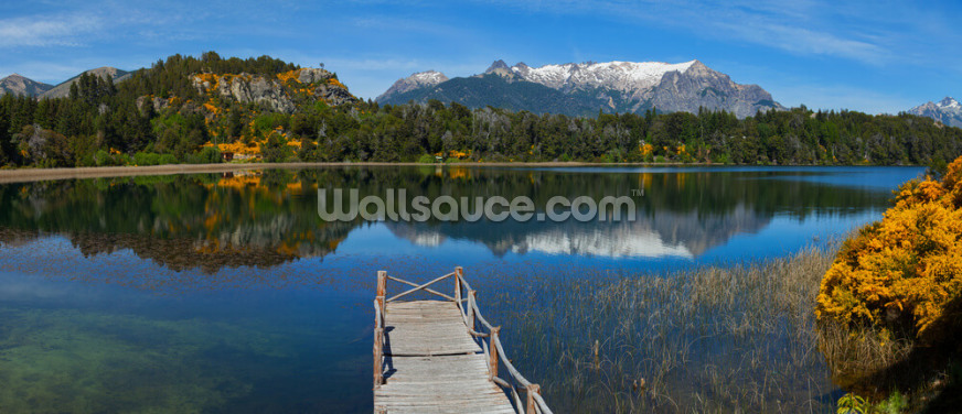 Spring in Patagonia Wallpaper Wall Murals