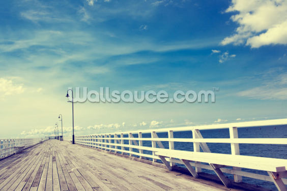 Shorncliffe Pier Wallpaper Wall Murals