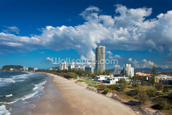 Burleigh Heads, Gold Coast Wallpaper Wall Murals